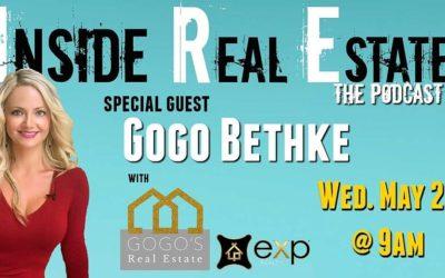 Inside Real Estate – Episode 54 – Gogo Bethke, eXp Realty