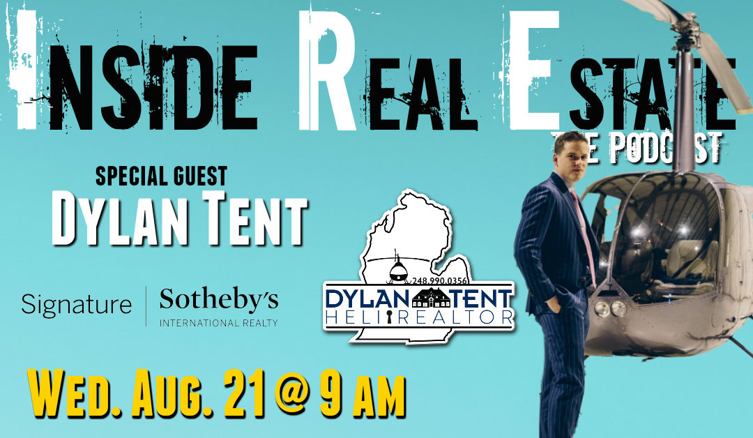 Dylan Tent, The Heli Realtor of Signature Sotheby's International Realty