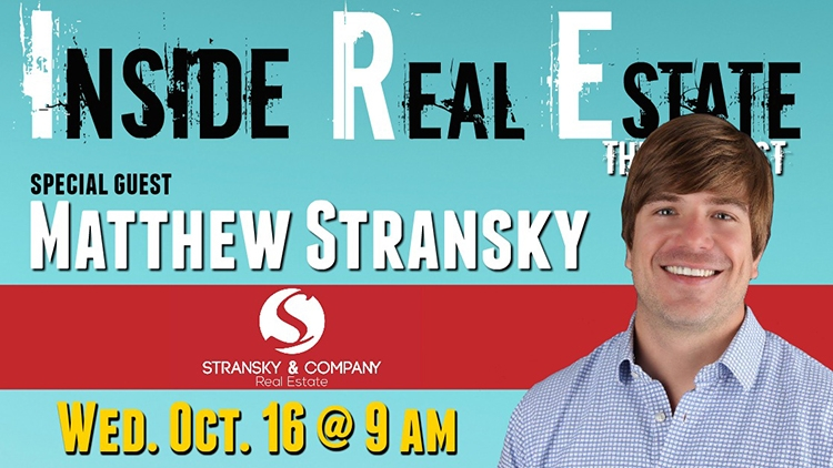 Inside Real Estate – Episode 74 – Matthew Stransky, Stransky & Company