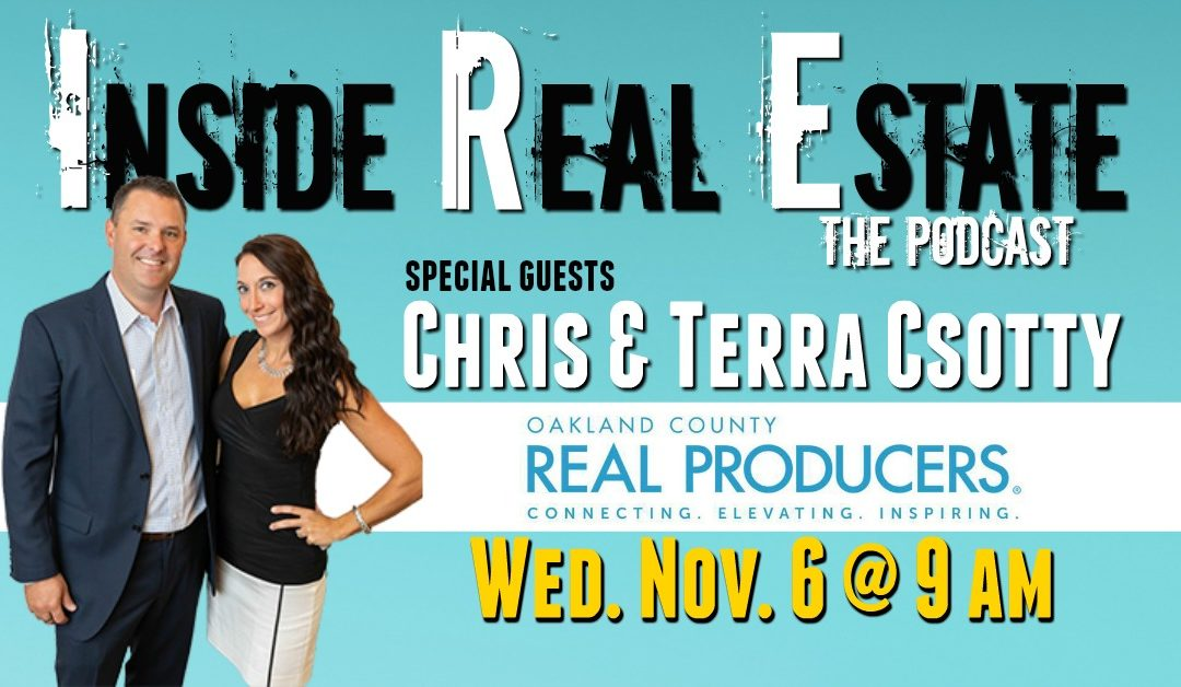 Inside Real Estate – Episode 77 – Terra Csotty, Real Producers Magazine