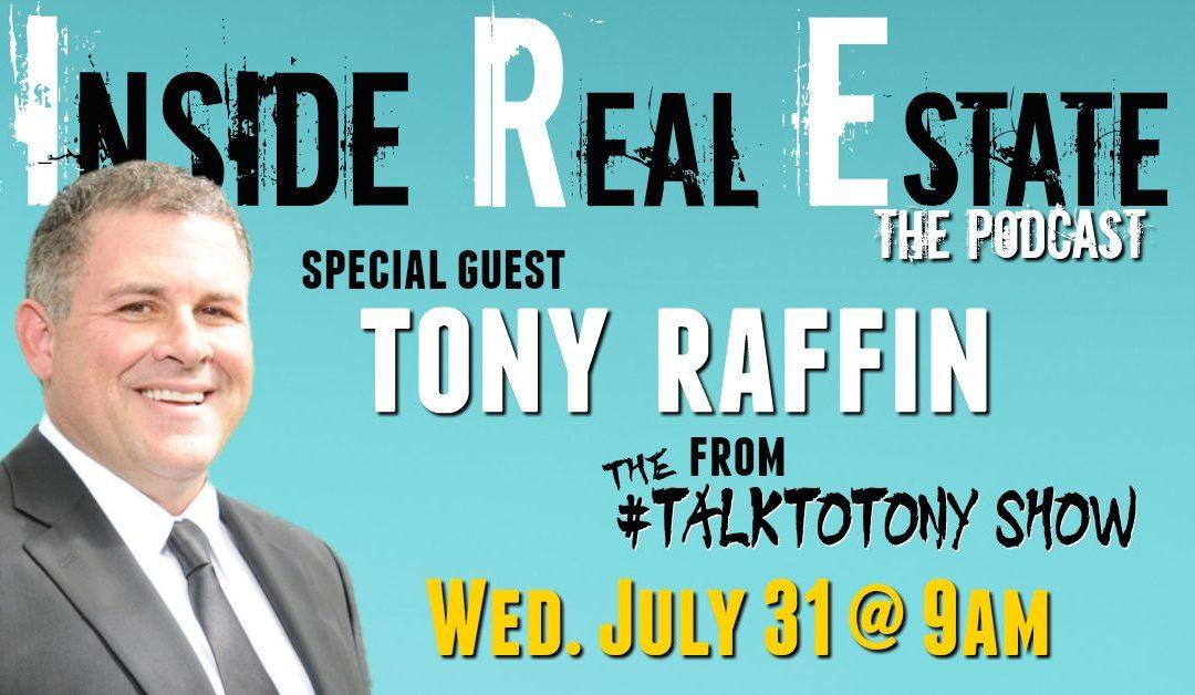 Tony Raffin the talk to tony show