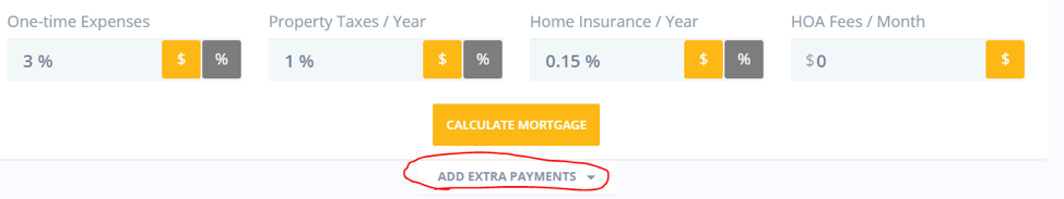 Add Extra Payments