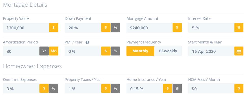Mortgage Details
