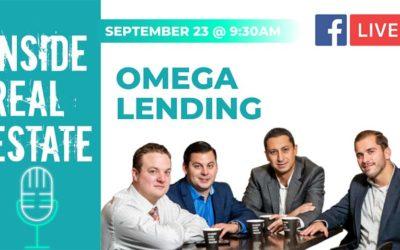 Inside Real Estate – Episode 121 – Omega Lending