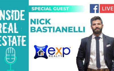 Inside Real Estate – Episode 124 – Nick Bastianelli, eXp Realty LLC