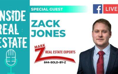 Inside Real Estate – Episode 123 – Zack Jones, Mark Z Real Estate Team