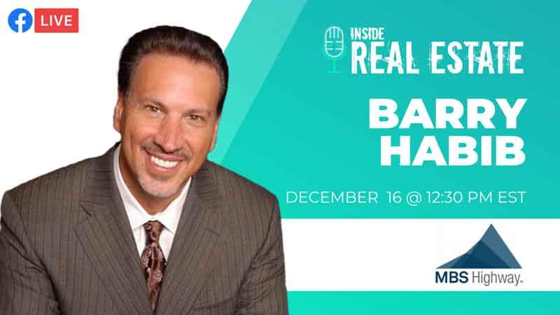 Barry Habib Inside Real Estate Podcast Promo