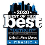Best Mortgage Lender Detroit Finalist Omega Lending 150px