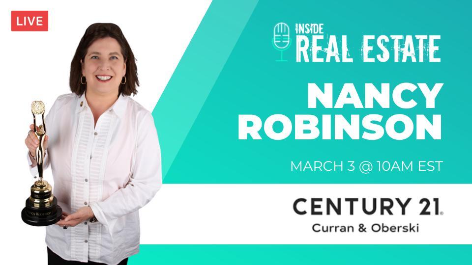 Nancy Robinson, Century 21 – Episode 142┃Inside Real Estate