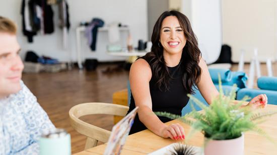 About Omega Lending Royal Oak MI Mortgage Lender Gabby Smiling 550px