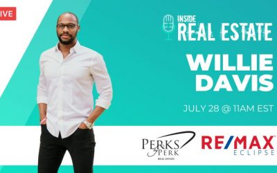 Willie Davis, Perks by Perk Real Estate, Re/Max Eclipse┃Inside Real Estate