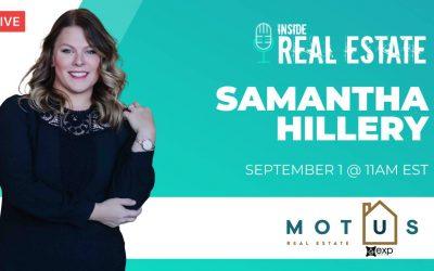 Samantha Hillery, Motus Real Estate┃Inside Real Estate